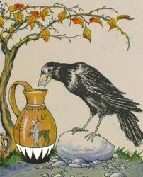 crow-and-pitcher